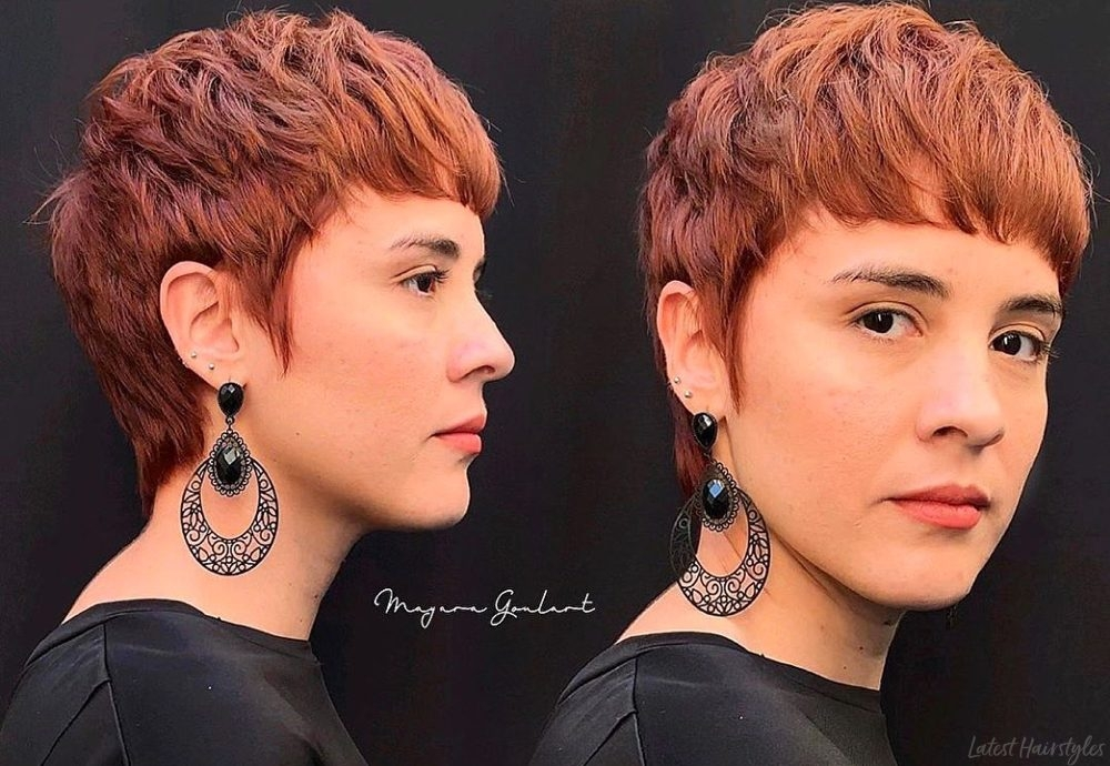 Stylish the 15 best pixie cuts for thick hair trending in 2020 Short Pixie Hairstyles For Thick Hair Ideas