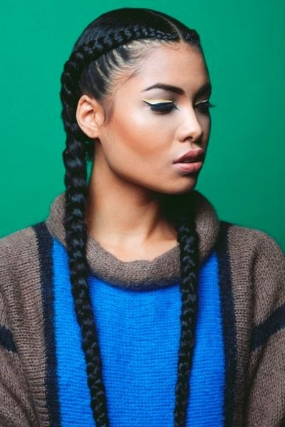 Stylish top 10 african american ponytails styles 2016 cool braid French Braided Hairstyles For African Americans Designs