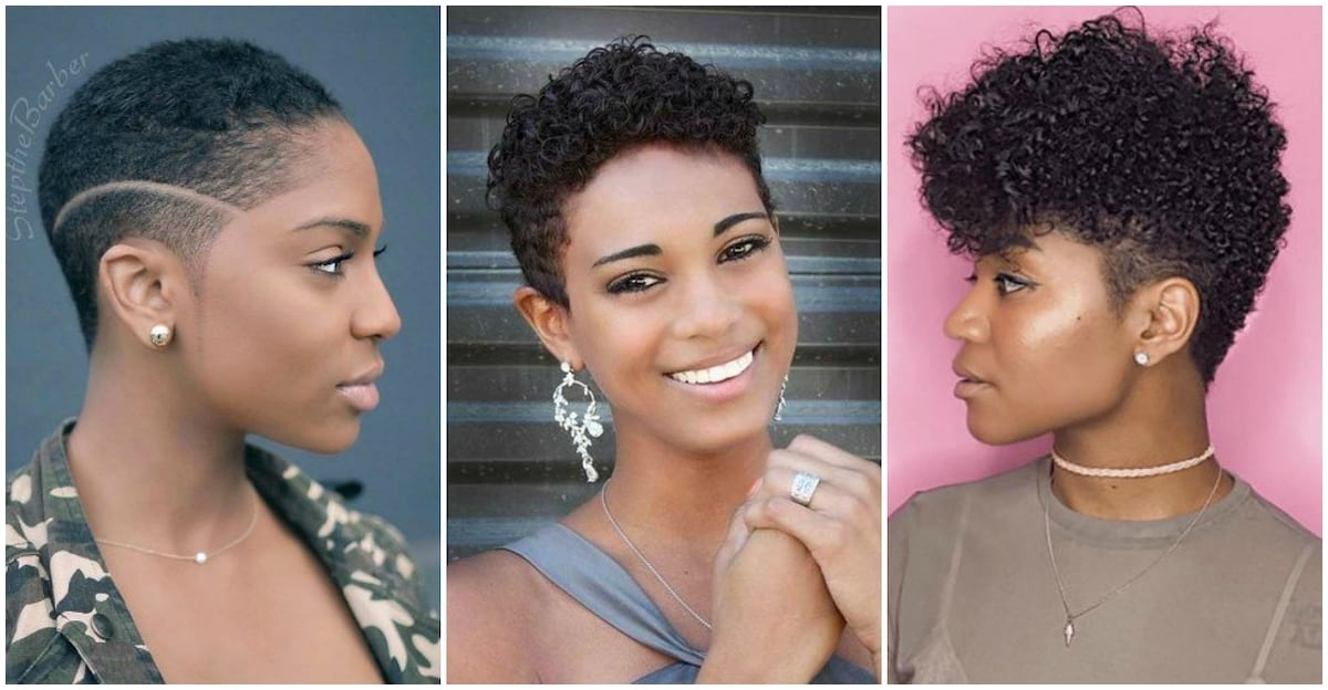 Stylish top 15 easy natural hairstyles for short hair Natural Simple Hair Styles For Short Hair Inspirations