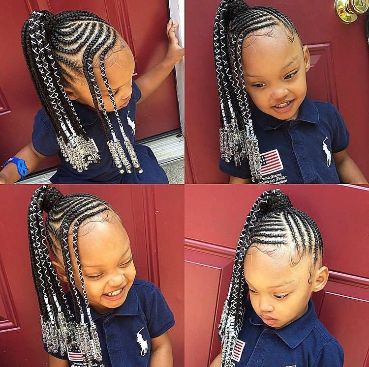 Stylish tylica on instagram kids braids pony Black Kids Braids Hairstyles Pictures Inspirations
