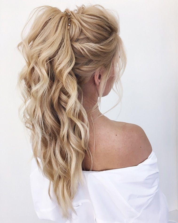 Stylish updo hairstyle braided updo braided hairstyles updo long Wedding Prom Hairstyle For Long Hair. Braided Updo Inspirations