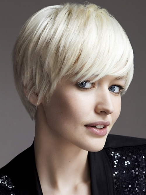 Stylish very short haircuts with bangs for women Cute Short Hairstyles With Long Bangs Inspirations