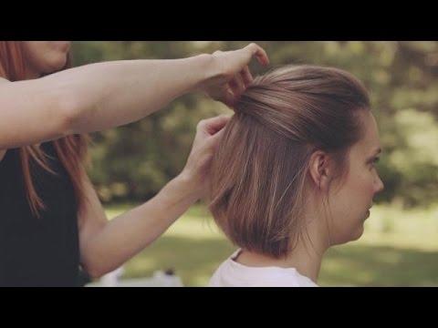 Stylish wedding hairstyles for short hair how to make an updo Short Hair Wedding Styles Pictures Ideas