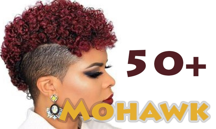 superb female mohawk hairstyles for black women new Mohawk Haircuts For African American Women Designs