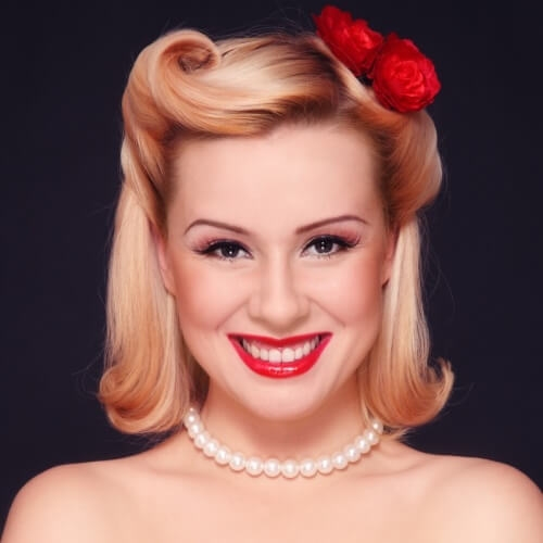tap into that retro glam with these 50 pin up hairstyles Pin Up Styles For Short Hair Ideas
