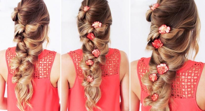 the bow braid luxy hair all beauty videos Luxy Hair Styles For Short Hair Ideas