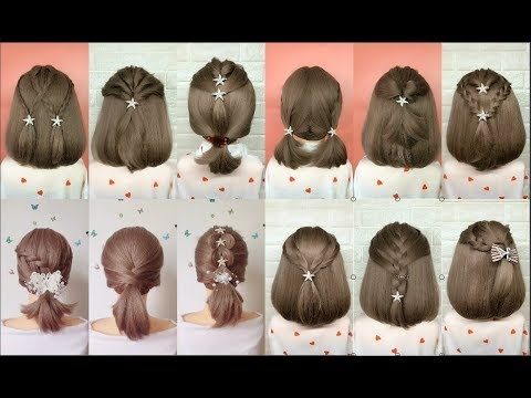 top 30 amazing hairstyles for short hair best hairstyles for girls Styling Short Hair For Girls Inspirations