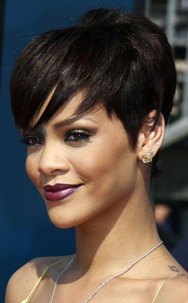 top 9 short hairstyles for fine hair 2018 rihanna short Rihanna Short Hair Styles Ideas