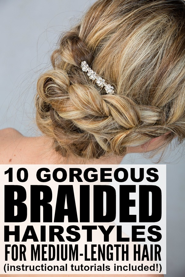 Trend 10 braided hairstyles for medium length hair Fashionable Braid Hairstyle For Shoulder Length Hair Inspirations