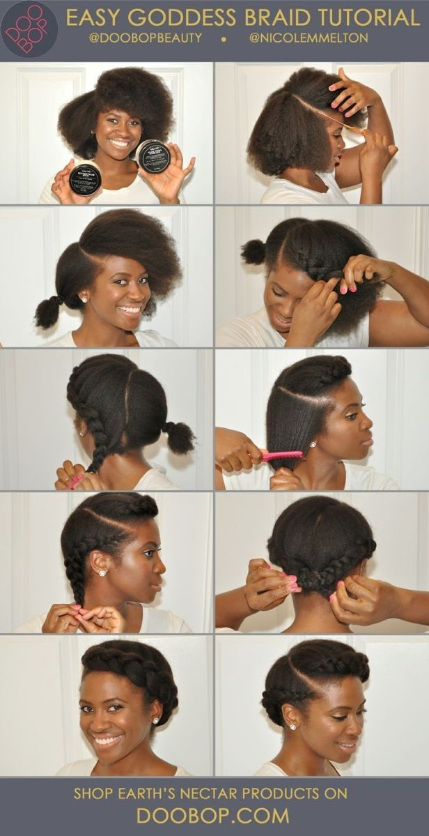 Trend 10 more stunning natural hair pictorials protective African American Hairstyles I Can Do At Home