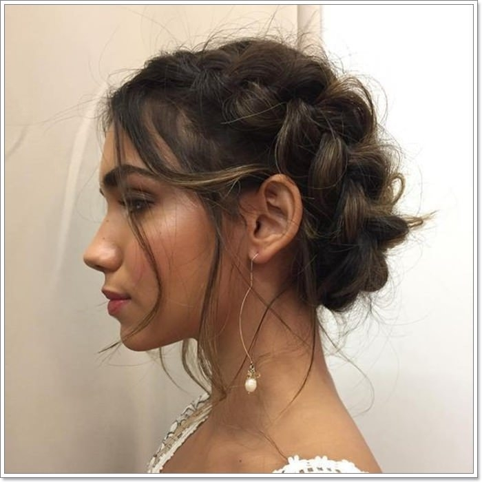 Trend 101 amazing updos for short hair Cute Messy Hairstyle For Short Hair Ideas