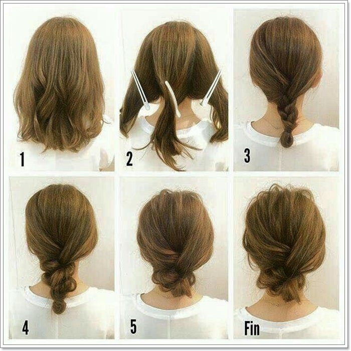 Trend 101 amazing updos for short hair Easy Updos For Short Hair Casual Inspirations