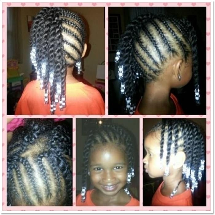 Trend 103 adorable time saving braid hairstyles for kids all ages Natural Hair Braiding Styles For Kids Inspirations