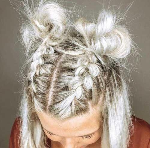 Trend 11easy braided hairstyle for short hair braidedhairstyles Easy Braided Hairstyle For Short Hair Inspirations
