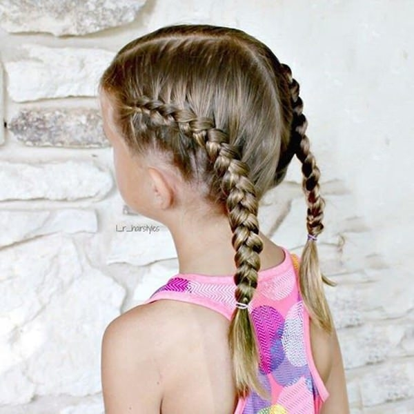 Trend 133 gorgeous braided hairstyles for little girls Simple Hair Braids Styles Inspirations