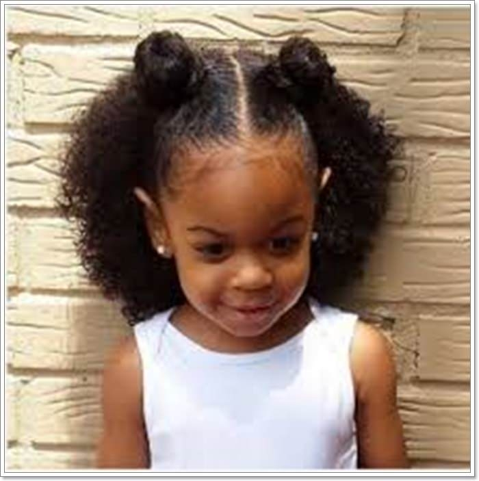 Trend 136 adorable little girl hairstyles to try Cute Black Girl Hairstyles For Short Hair Ideas