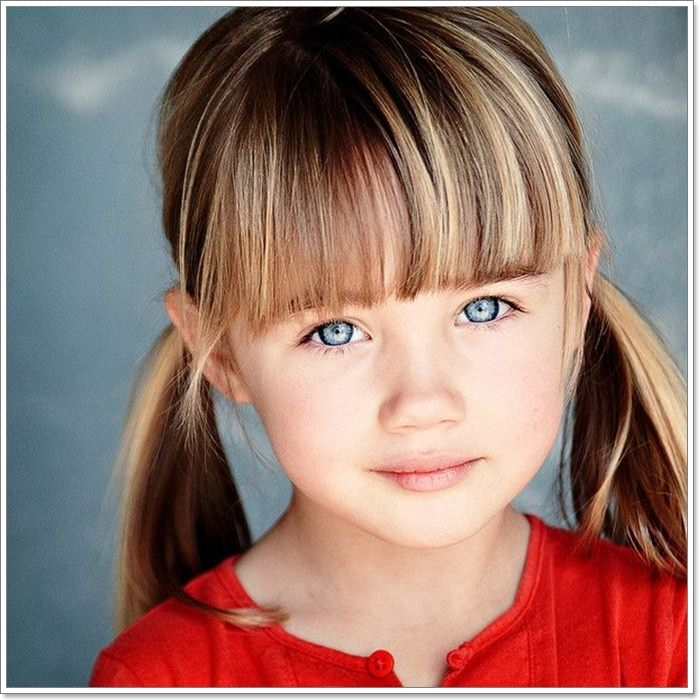 Trend 136 adorable little girl hairstyles to try Cute Little Girl Hairstyles For Short Hair Inspirations