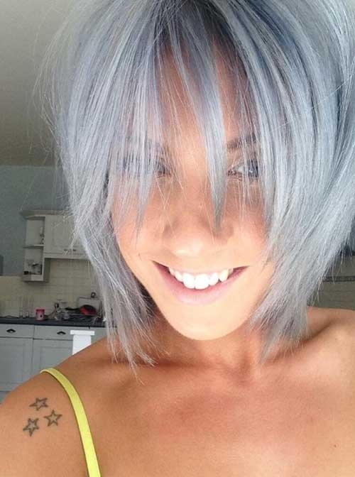 Trend 14 short hairstyles for gray hair Gray Hair Styles Short Hairstyles Ideas