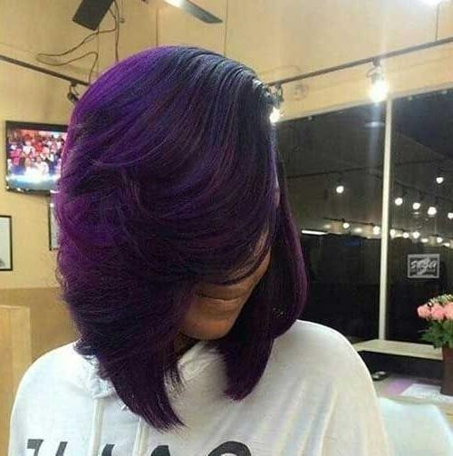 Trend 15 classy layered bob hairstyles for black women 2020 trends African American Layered Bob Hairstyle Photos