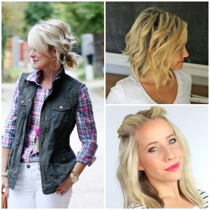 Trend 18 easy styles for short hair Tips On Styling Short Hair Inspirations
