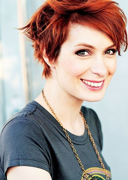Trend 18 short red haircuts short hair for summerwinter Short Hairstyles For Redheads Choices