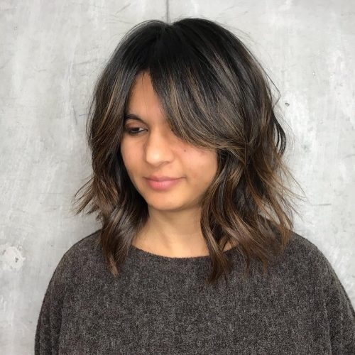 Trend 19 flattering medium hairstyles for round faces in 2020 Short To Medium Haircuts For Round Faces Ideas