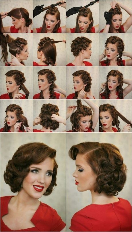 Trend 1950s hairstyles for short hair tutorial foto video Hairstyles Tutorials Short Hair Ideas