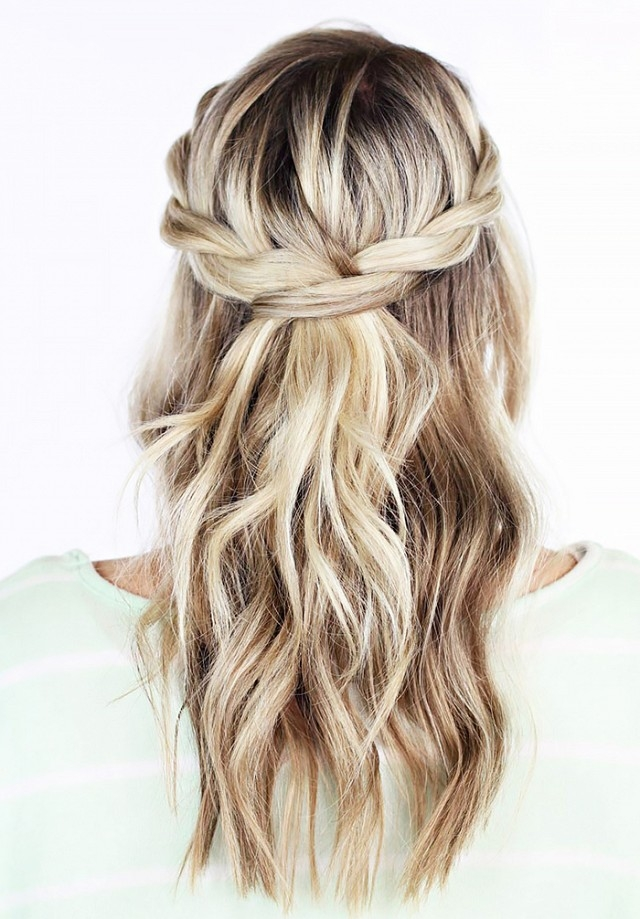 Trend 20 awesome half up half down wedding hairstyle ideas Wedding Hairstyles For Long Hair Half Up Half Down With Braids Ideas