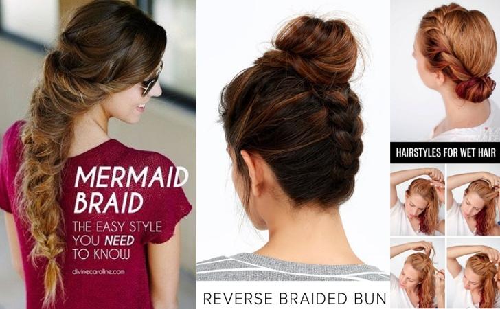 Trend 20 easy elegant step step hair tutorials for long Simple Braided Hairstyles For Medium Length Hair Ideas