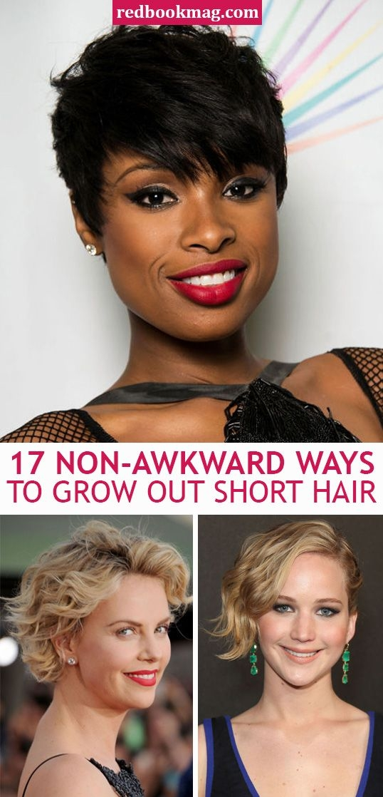 Trend 20 non awkward ways to grow out your short haircut growing Growing Out A Short Haircut Styling Tips Choices