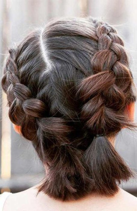 Trend 20 stunning updos for short hair in 2020 the trend spotter Short Hair Styles Updo Inspirations