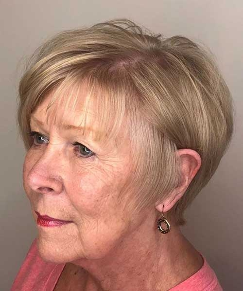Trend 2019 short hairstyles for older women with thin hair short Short Hair Styles For Women With Thin Hair Choices