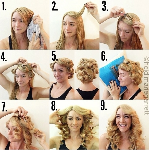 Trend 22 no heat styles that will save your hair Styling Short Hair Without Heat Choices