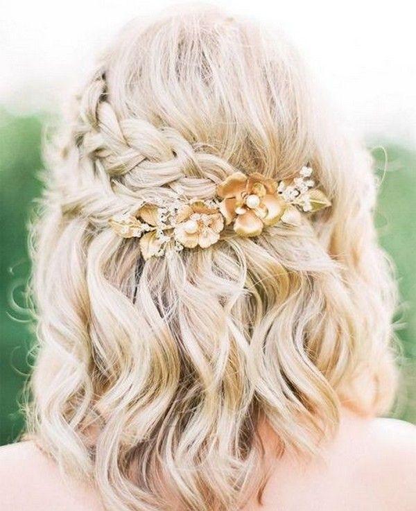 Trend 24 medium length wedding hairstyles for 2020 mrs to be Wedding Hairstyles For Short To Medium Length Hair Inspirations