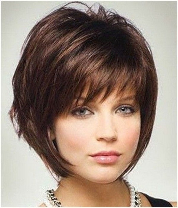 Trend 25 beautiful short haircuts for round faces 2017 Short Hairstyles With Bangs And Layers For Round Faces Inspirations