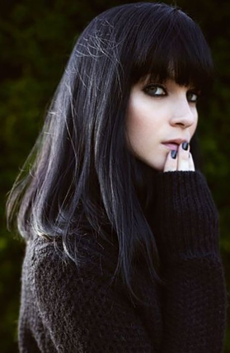 Trend 25 gorgeous long hair with bangs hairstyles the trend spotter African American Layered Hairstyles With Bangs Designs