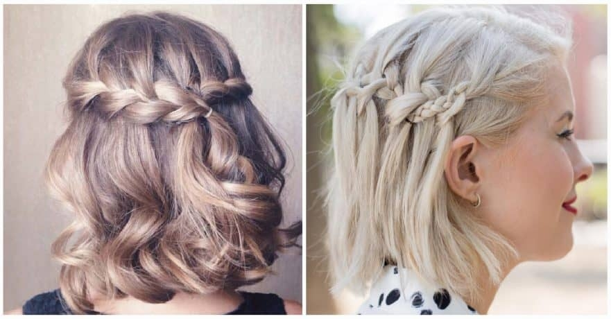 Trend 27 beautiful and fresh braid hairstyle ideas for short hair Braided Hairdos For Short Hair Ideas