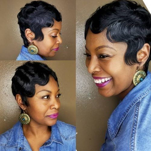 Trend 27 hottest short hairstyles for black women for 2020 Afro American Short Haircuts Ideas