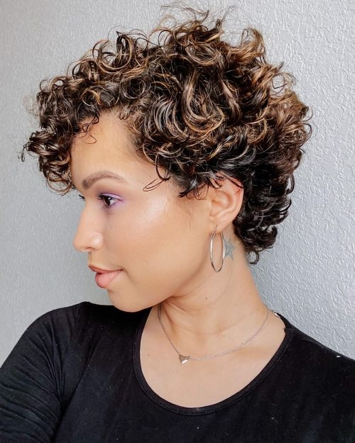 Trend 29 short curly hairstyles to enhance your face shape Short Haircuts Curly Hair Choices