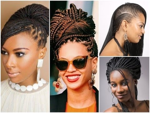 Trend 30 fashion braid hairstyles for black women Hair Braiding Styles For Black Women Inspirations