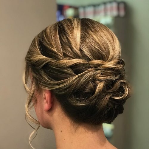 Trend 30 prettiest prom updos for long hair for 2020 Prom Hairstyles For Long Hair Updos With Braids Inspirations