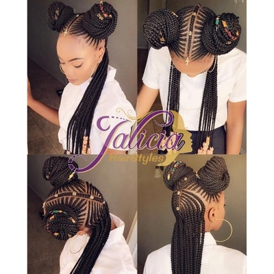 Trend 31 best black braided hairstyles to try in 2019 allure Africa Braided Hair Styles Ideas