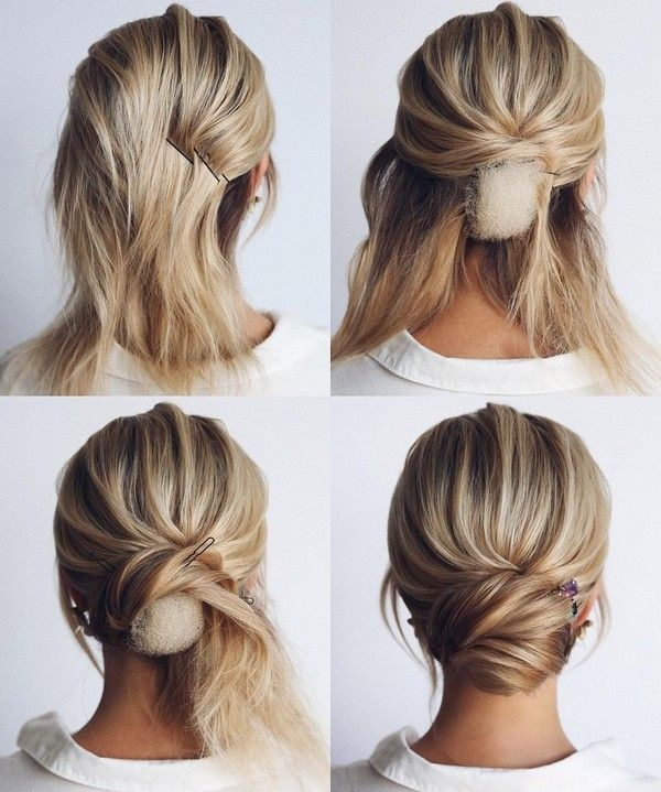 Trend 34 diy hairstyle tutorials for wedding and prom short hair Short Hair Tutorial For Prom Choices
