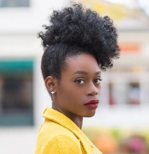 Trend 35 quick natural hairstyles for short natural hair Quick Updos For Short Natural Hair Choices