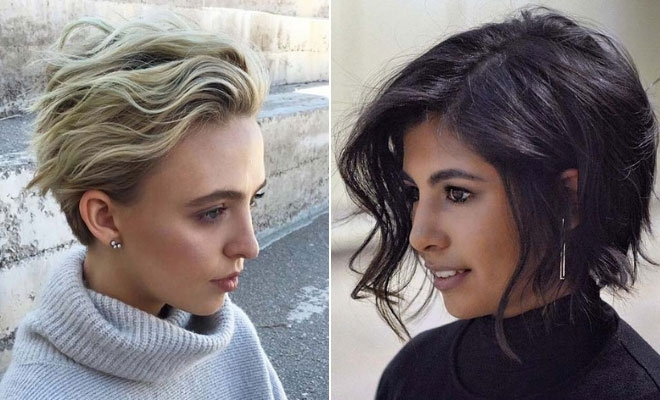 Trend 43 short haircuts for women to copy in 2021 stayglam Short Haircut Style Pictures Ideas