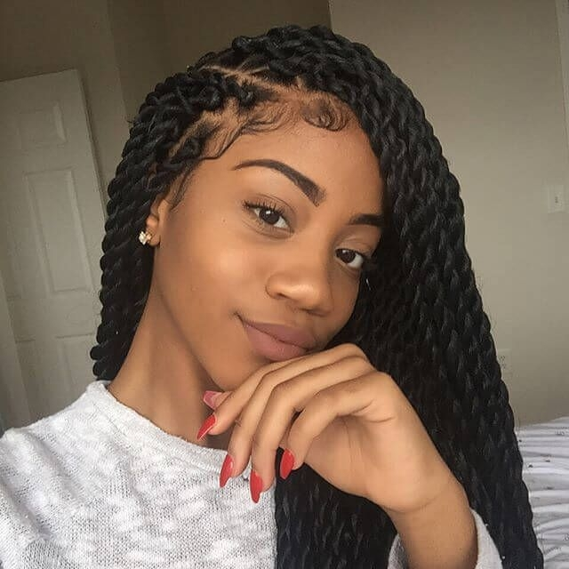 Trend 50 beautiful ways to wear twist braids for all hair textures Braided Twist Hairstyles Ideas
