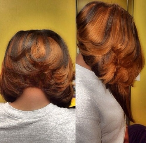 Trend 50 bob hairstyles for black women hairstyles update Bob Styles For African American Hair Ideas