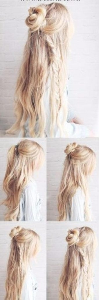 Trend 50 incredibly easy hairstyles for school to save you time Easy Hairstyles For Long Hair No Braids Ideas