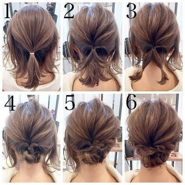 Trend 50 quick and easy step step hair tutorials for long Diy Hairstyles For Short Hair Step By Step Inspirations
