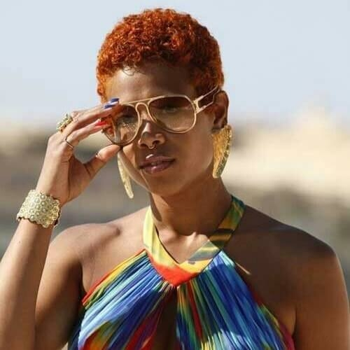 Trend 50 short hairstyles for black women splendid ideas for you African American Short Hairstyles With Color Designs
